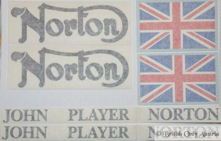 John Player Norton Sticker Set 1975
