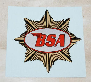 BSA Transfer for Tank 1949-on
