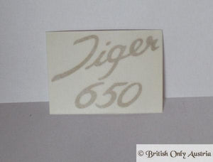Triumph 650cc Sticker for Sidecover 1970/71
