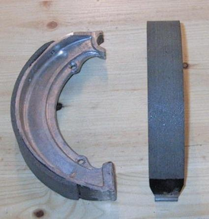 BSA Brake shoes 7