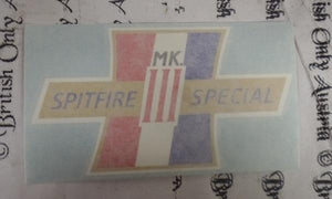 BSA Spitfire MKIII Special Transfer for Side Cover