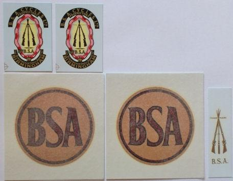 BSA M20 1939 Civilian Transfer Set