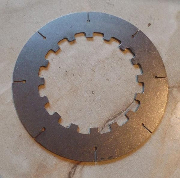 Brough Superior/Norton Clutch Plate, Steel, 16H, Mod. 18 Brough Superior narrow