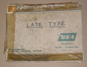 BSA Spares-Late Type