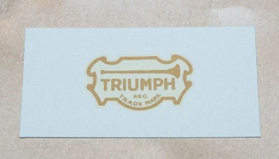 Triumph Transfer for Headstock to1928