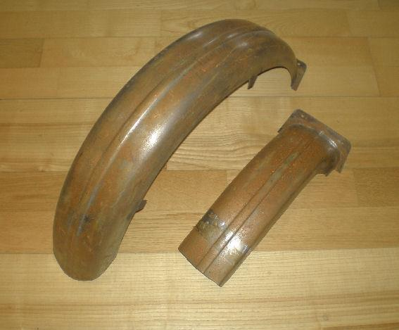 Triumph Rear Mudguard Rigid