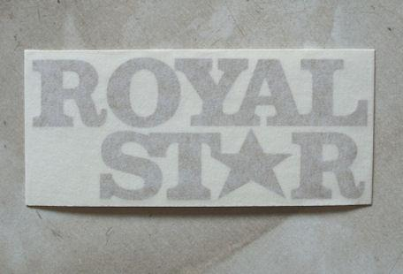 BSA Royal Star, Sticker late 1970
