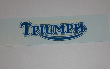 Triumph Transfer f. Rear Mudguard, Tiger Models 1937-70