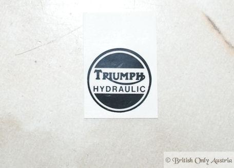 Triumph Decal Hydraulic f. Caliper Cover
