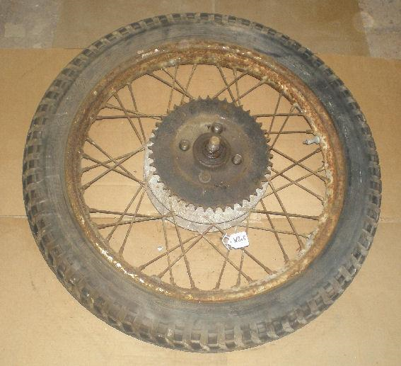 BSA Rear Wheel 1956 Ariel Type used