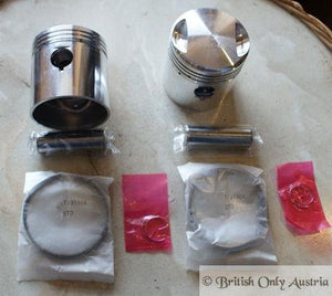 Triumph 5T Pre Unit Piston Pair 63mm / +020