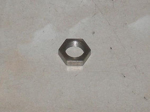 "Vincent Adjuster Locknut Stainless 7/16"" 26TPI Half Nut"