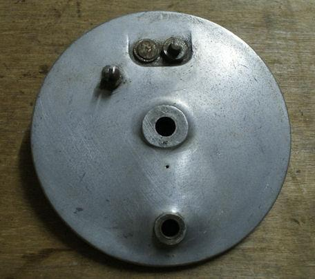 Norton Brake Plate front used