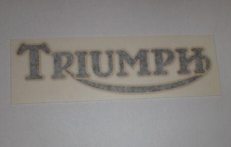 Triumph Tank Sticker 1972 only