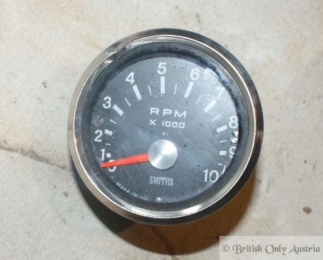 Tachometer Smiths RPM x 1000 used