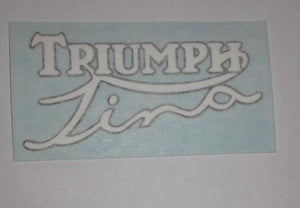 Triumph Tina Sticker f. Scooter 1962-65