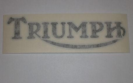 Triumph Tank Sticker 1971-73