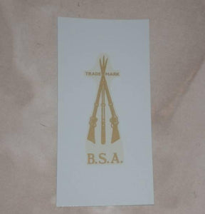BSA Transfer Cross Rifles all years