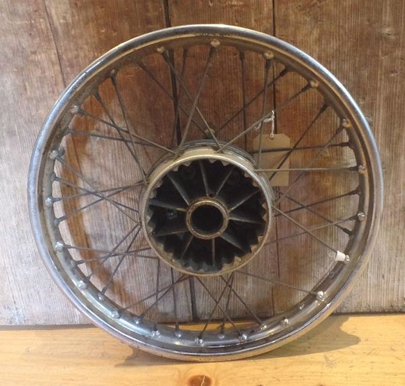 AJS/Matchless Rear Wheel Dunlop WM2 19