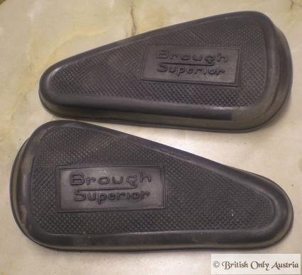 Brough Superior Kneegrip Rubbers /Pair