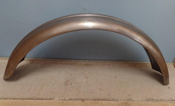 Triumph/Ariel Front Mudguard with wide Rib Shallow