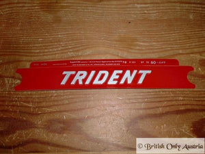 Triumph Decal Trident