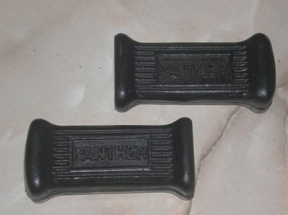 Panther Pillion Footrest Pedal Rubbers /Pair