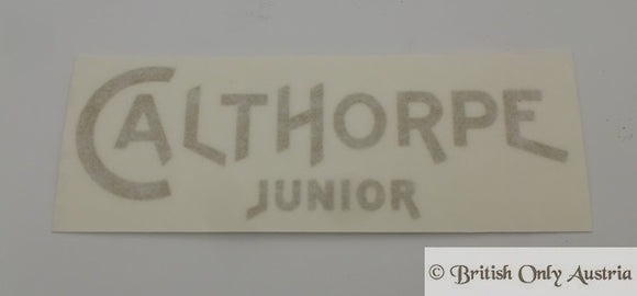 Calthorpe Junior Tank Sticker gold