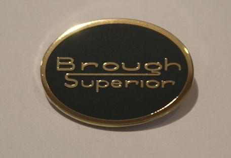 Brough Superior Lapel Badge