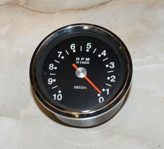 Tachometer/Rev. Counter DRESDA 0-10.000 RPM
