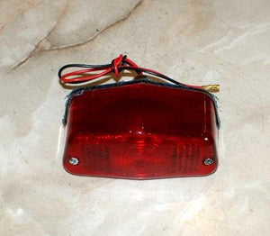 Rear Light. Tail Light 6V. lucas replica
