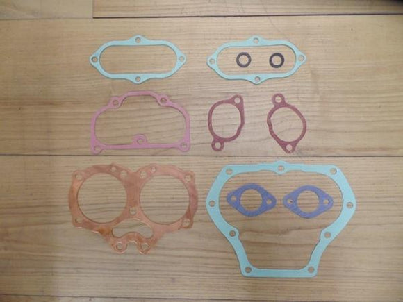 BSA A10 Top End Gasket set with solid Head gasket 1954-63