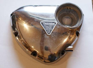 Triumph Kickstart Timing Cover with Patent Plate