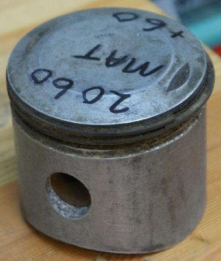 AJS/Matchless Piston +60 NOS