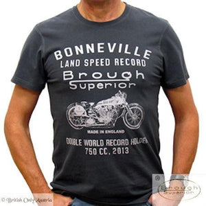 "Brough Superior ""Double World Record Holder 750cc"" 2013 T-Shirt L"