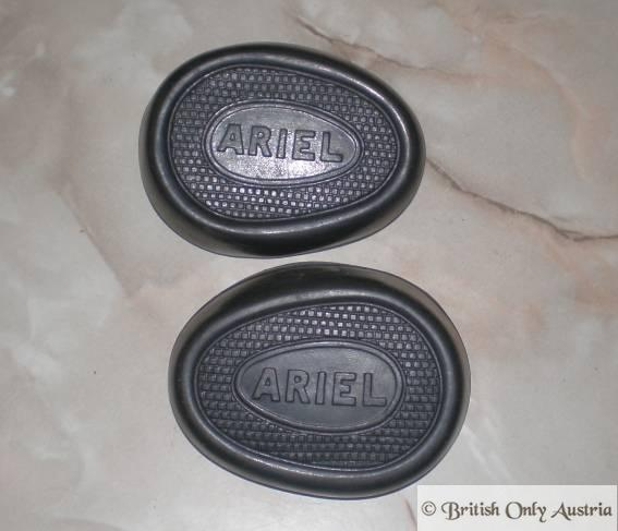 Ariel Kneegrip rubber (Contour Typ) /Pair