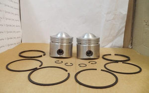 AJS/Matchless 650cc Twin Pistons/Pair. STD.