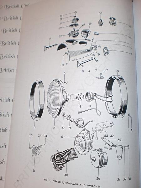 Triumph Parts Book No 4 3TA/5TA 1961-63