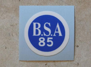 BSA Sticker for Timing Cover 1930's