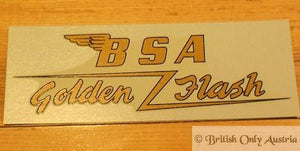 BSA Golden Flash Rear Mudguard Transfer 1950-57