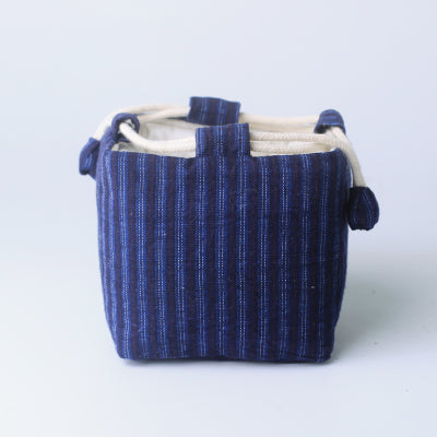 Vintage Fabric Teaware Travel Storage Pouch