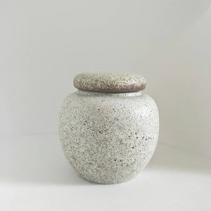 White Clay Tea Caddy