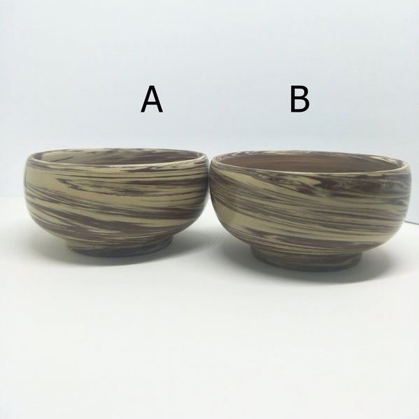 Jianshui Zitao Purple Clay Spiral Mix Tea Cup