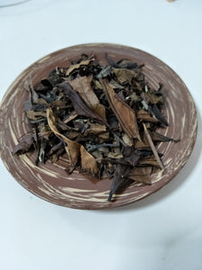 Aged Bai Mu Dan White Peony White Tea Loose Leaves