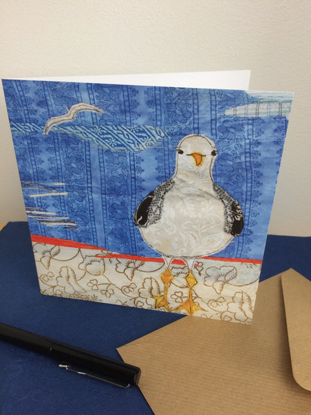 Sassy Seagull Greetings Card