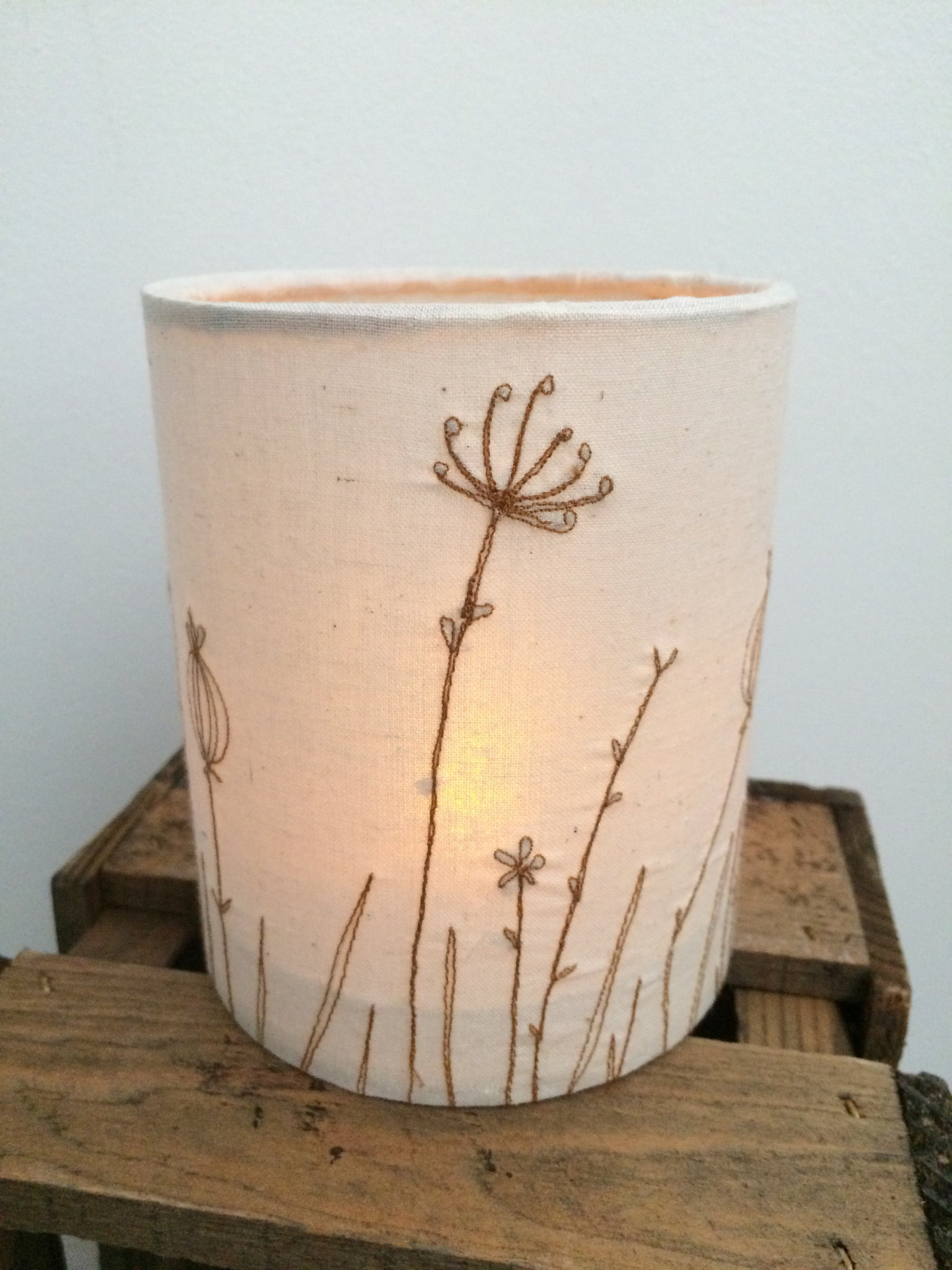Handmade Original tea light holder