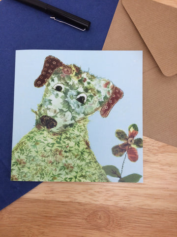 Rosie Dog Greetings Card