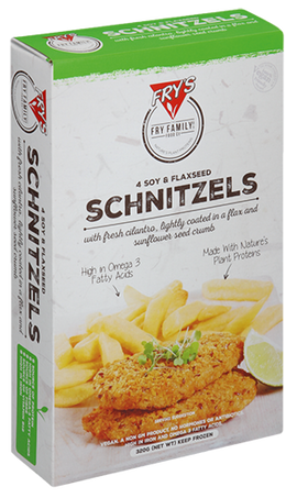 Soy and Flaxseed Schnitzels