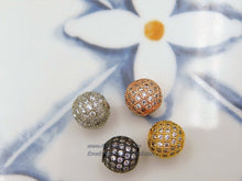 Load image into Gallery viewer, Micro Pave Beads - A Girls Gems