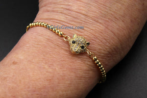 Tiger Head Bracelet - A Girls Gems
